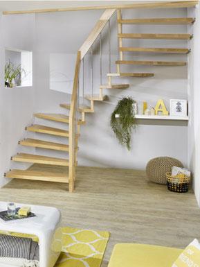 AREO - Innovative Aluminium Treppe