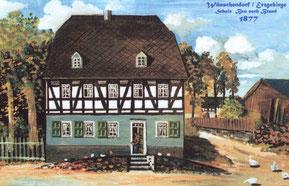 Bild: Wünschendorf Erzgebirge Teichler Alte Scule