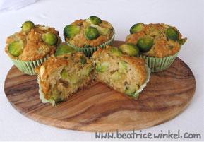 vegan Rosenkohl-Muffins