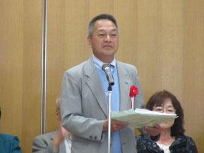 審査委員長の高知県生協連井垣会長