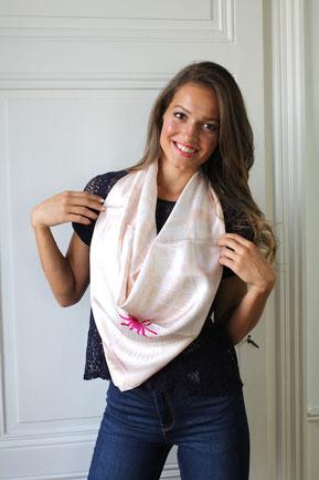 foulard fanfaron carre de soie made in france