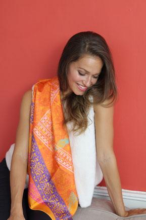 foulard fanfaron made in france carré de soie