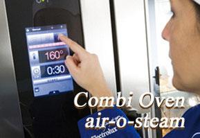 エレクトロラックス社 スチームコンベクションオーブン air-o-steam
