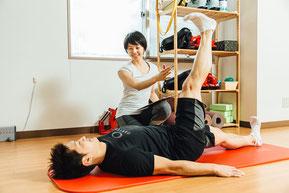 ピラティス、札幌、パーソナルトレーニング