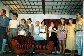 Peter Lüders. Peter Reich,Regina Sturmat, Werner Feldmann, Manfred Mönnich, Ursula Hanelt,  Renate Golke, Karin Brodthage, Angela Gladisch, Otto Brodthage