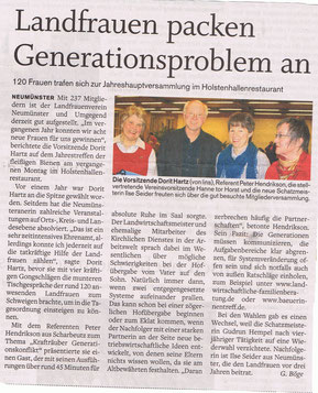 Holsteinischer Courier, 16.Februar 2011