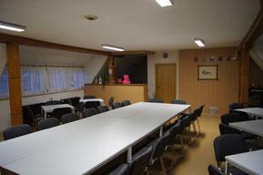 Schulungsraum vor der Renovierung