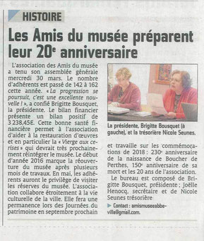 Article du Courrier Picard