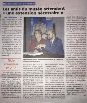 Article du Journal d'Abbeville