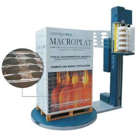 Sistema de enfardado Macroplat