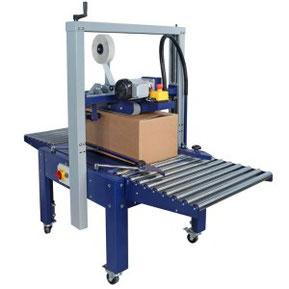 La precintadora para cajas Robotape TBD está disponible en tres versiones: 50TBD, 65TBD y 80TBD.