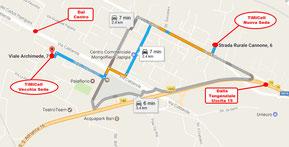 Come raggiungere il nostro negozio Timicell a Bari , Puglia