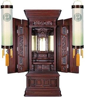 住吉提灯とお仏壇