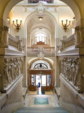 Interno di Palazzo D'Aronco - Foto Alessio Buldrin