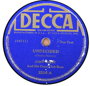 undecided-clasicos del jazz-standards jazz