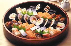 家族葬の大阪寿司