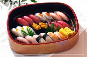 家族葬の特上寿司