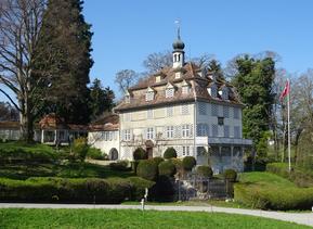 das Pfauenmoos bei Berg SG, der damalige Wohnsitz von Leonhard Zollikofer