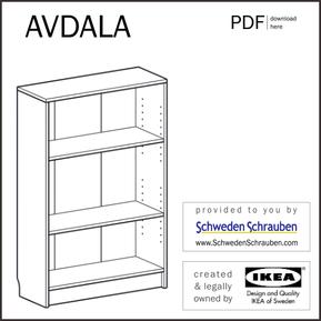 AVDALA Anleitung manual IKEA