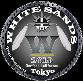 ツーリングクラブ東京-WHITESANDS Mortorcycle Club ロゴ