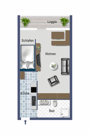 Plan - Ferienwohnung Heiligenhafen