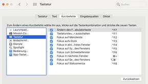 Mac Excel zwischen Dateien wechseln