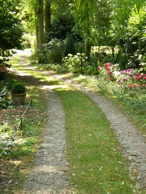 Cliquez pour visiter le jardin du gîte la Fontaine St Gervais
