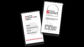 Geschäftskarten Relaunch 2003