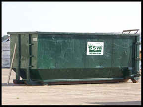 Southern Solid Waste 40 yard roll off container