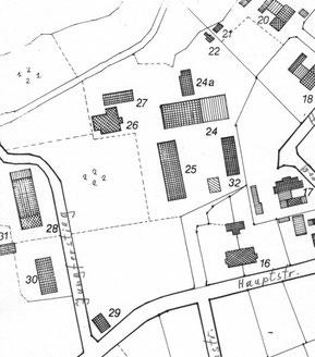 Lageplan des Hardebeker Hofes