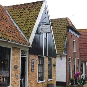 Der Ort Oosterend auf der Insel Texel