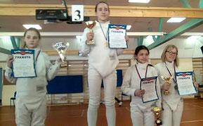 Майя Панкратова - победительница соревнований