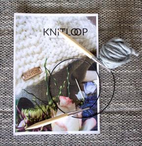 Kuschelige Decke einfach selber stricken mit dem Strick-Set von Knitloop.