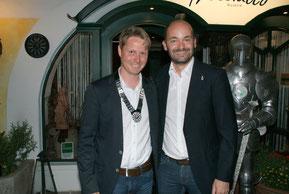 RT34 Präsident Gerald Schlager mit Pastpräsident Christian Höckner