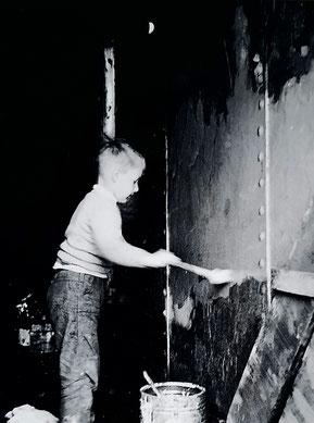 Foto aus dem Jahr 1956