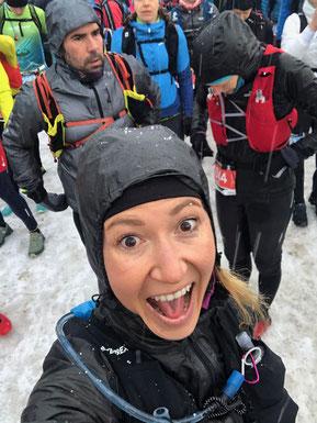 @ Manuela Dietzinger beim MOUNTAINMAN Wintertrail