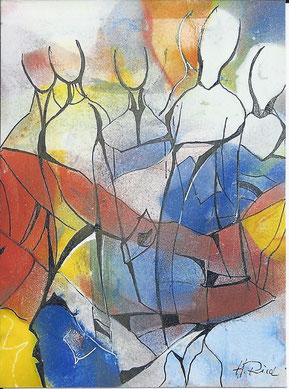 """© """"Achtsame Schritte"""" von Helmut Ried"""