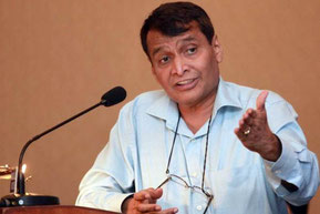 Suresh Prabhu is India's Minister of Civil Aviation