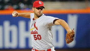 Nella foto  Adam Wainwright, il suo sinker lo ha trasformato da un buon prospetto ad uno dei migliori partenti della MLB (USA TODAY Sports)