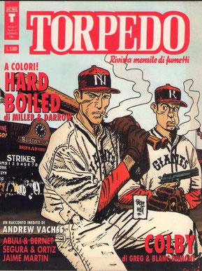 La copertina n° 4 di Torpedo (Gennaio 1991)