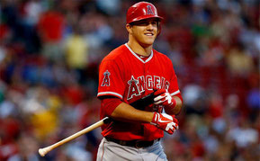 Nella foto Mike Trout ((Jared Wickerham / Getty images)