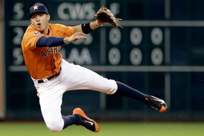 Nella foto Carlos Correa (Pat Sullivan/Associated Press)