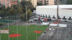 """Il """"Carlinetto"""" di Genova in costruzione (clicca per ingrandire)"""