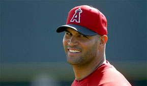 Nella foto Albert Pujols (Luis Sinco / Los Angeles Times)