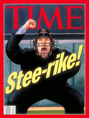 La copertina del TIME del 22 Agosto 1994