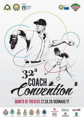 La locandina della 32^ Coach Convention