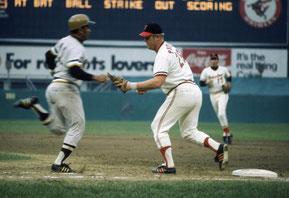 Nell'immagine la partite delle World Series tra Orioles e Pirates del 13 Ottobre 1971