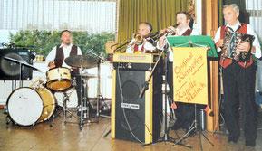 Heinz Filippi, Alo Lang, Willi Balzer, Otto Kiefer.