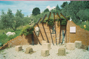 Märchenbrunnen in Pescia