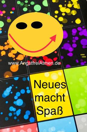 www.angstfreiatmen.de - Neues macht Spaß. Probieren Sie es aus. Tipp: BONUS (pdf-Dateien zum Herunterladen + ausprobieren)